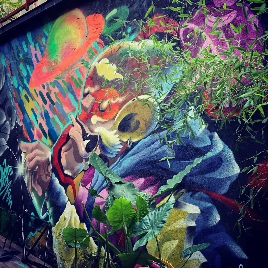 涂鸦,花艺创作,花艺艺术设计